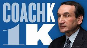 What's up with Coach K?  Something looks wrong at Duke