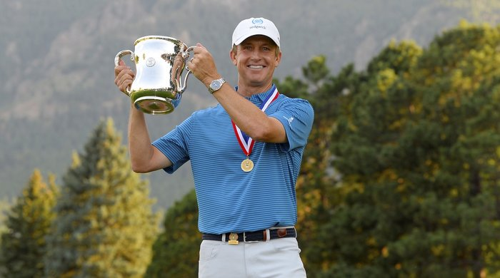 Who's your caddie?  David Toms & team win US Senior Open