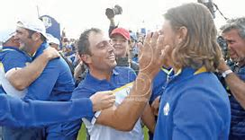 Euro Ryder Cup success = Fairways and grins